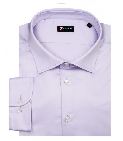 Shirt Firenze Satin Liliac