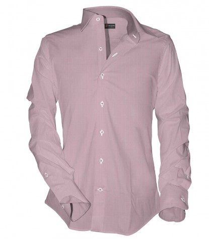 MEN'S SHIRT 1 BUTTON ITALIAN COLLAR