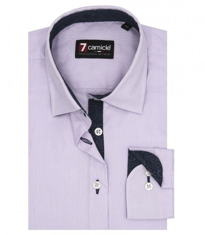Shirt Giulietta Oxford Liliac