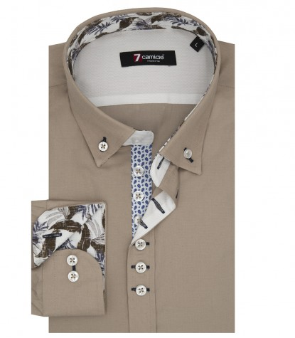 Camicia Donatello Popeline stretch Mastice
