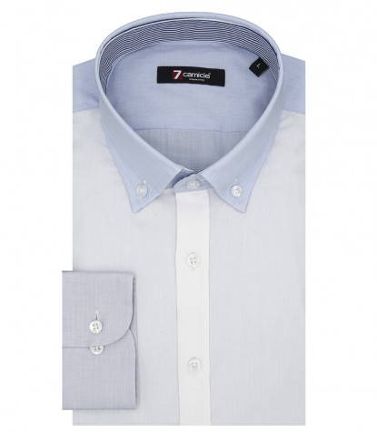 MEN'S SHIRTS POPLIN STRETCH WHITE
