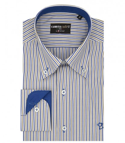 MEN'S SHIRT BUTTON-DOWN NARROW LINE