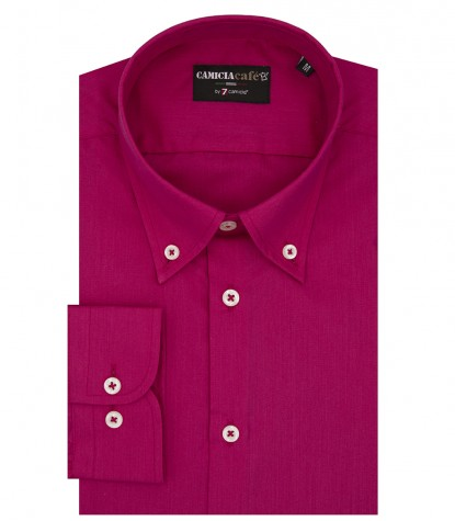 Shirt Leonardo Cotton Polyester Fuxia
