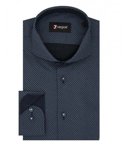 Shirt Firenze Cotton Blue Avion Blue