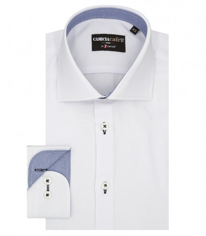Shirt Firenze Cotton Polyester White