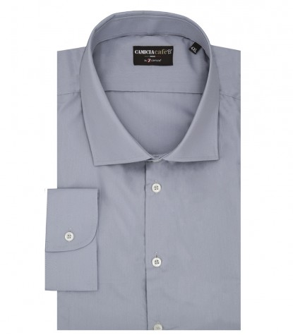 Shirt Firenze Cotton Polyester Grey