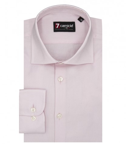 Camisas Firenze Oxford Rosa