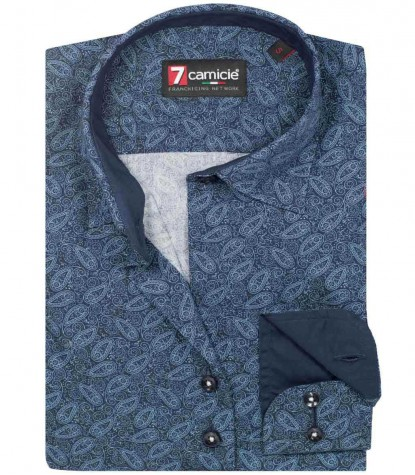 Shirt Giulietta BlueLite Blue