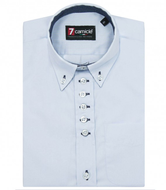 Shirt Francesco Light Blue