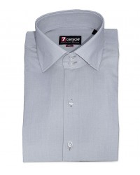 Shirt Dante Fil a fil Light Grey