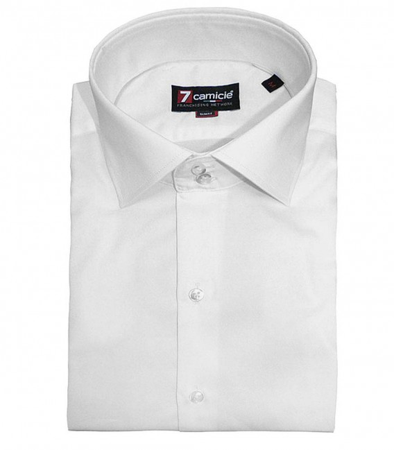 Shirt Dante Satin White