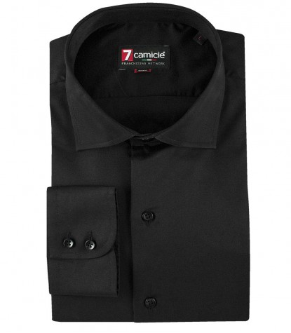 Shirt Dante Satin Black