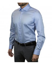 Shirt Dante Satin Light Blue