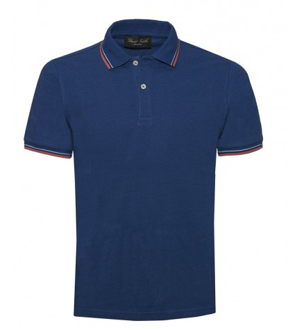 Piquet Bluette Polo Shirt