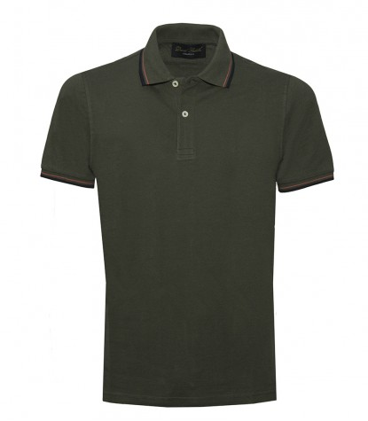 Green olive Polo Shirts