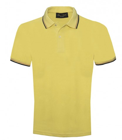 Piquet Yellow Ochre Poloshirt
