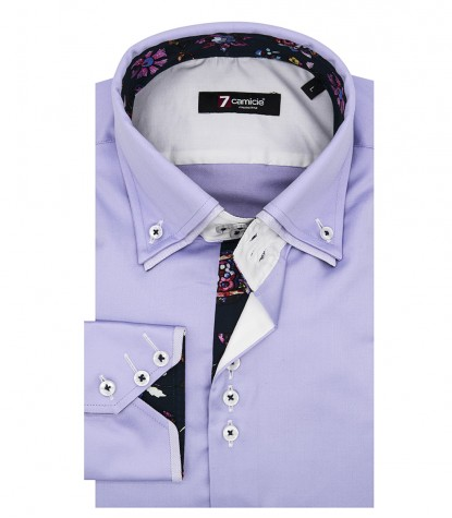 Shirt Colosseo Satin Liliac