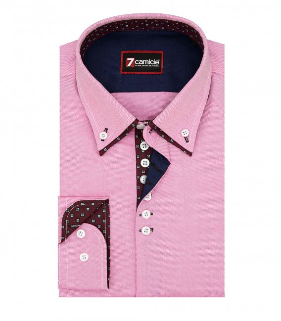 Shirt Donatello Oxford Light Red