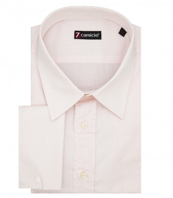Man shirt 1 French button Pink