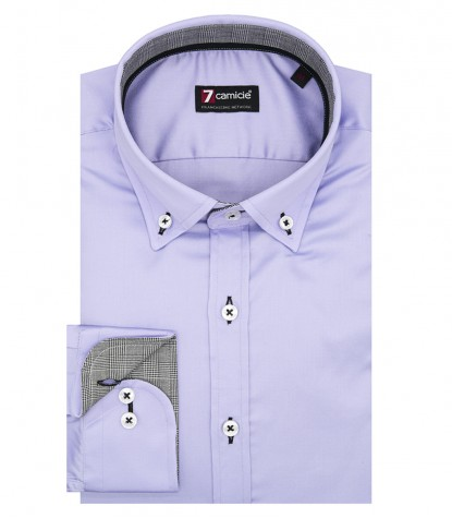 Shirt Leonardo Satin Liliac