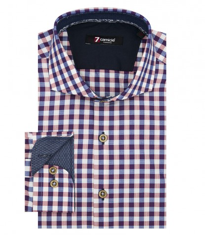 Shirt Firenze Oxford BlueRed