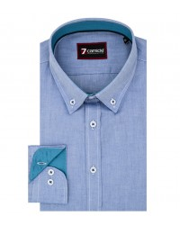 Shirt Leonardo Oxford Ink Blue