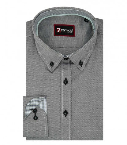 Shirt Leonardo Oxford Black