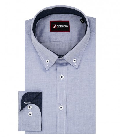 Shirt Leonardo Super oxford Blue