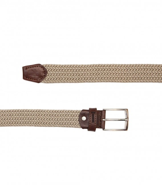 BEIGE-BROWN BELT