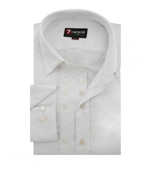 Shirt Raffaello Satin White