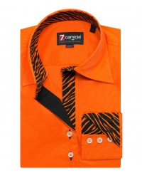 Shirt Beatrice stretch poplin Orange