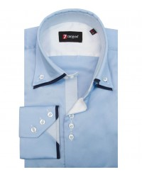 Shirt Colosseo Light Blue