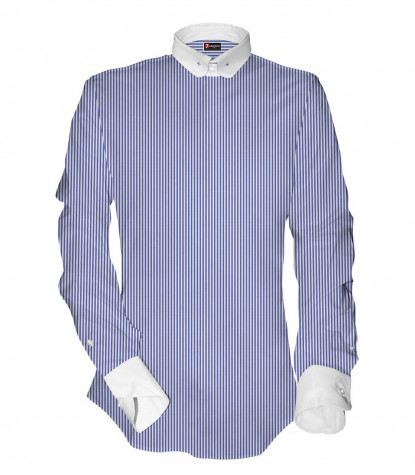Shirt Pantheon Poplin WhiteBlue
