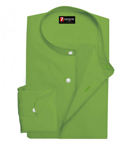 Shirt Men full color Green