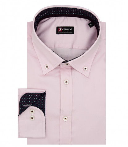 Shirt Leonardo Satin Light Pink
