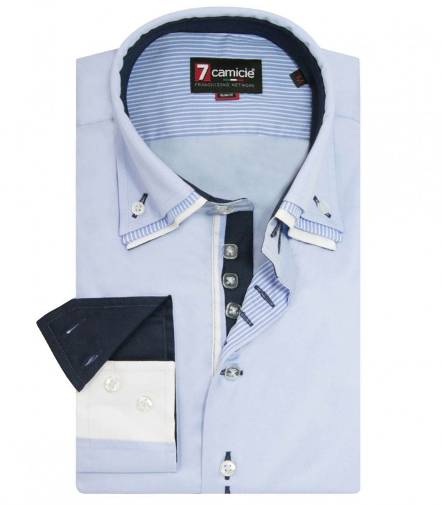 Shirt Vesuvio Light Blue
