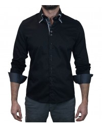 Shirt Vesuvio Black