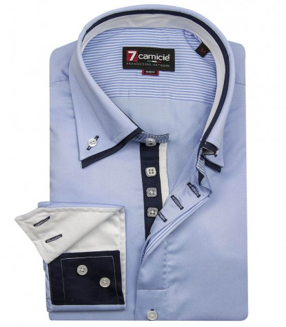 Shirt Marco Polo Light Blue