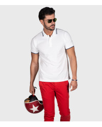 Piquet Polo Shirt White