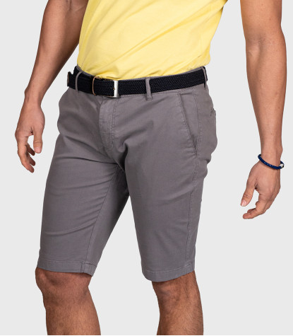 Dark Grey Bermuda Shorts