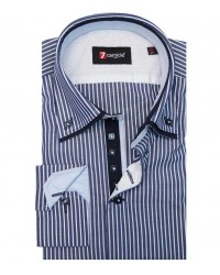 Shirt Marco Polo Cotton BlueWhite