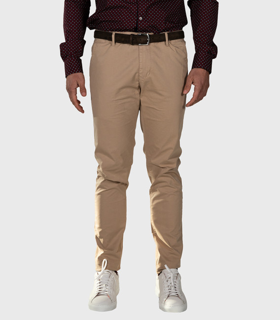 Trousers Chinos Premium Quality Beige