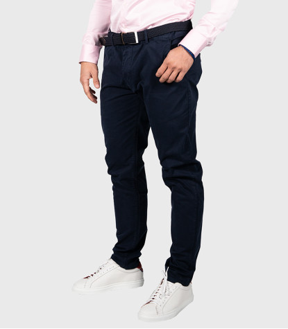 Trousers Chinos Premium Quality Blue