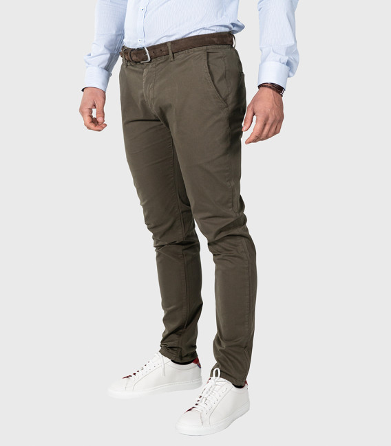 Trousers Chinos Premium Quality Dark Green