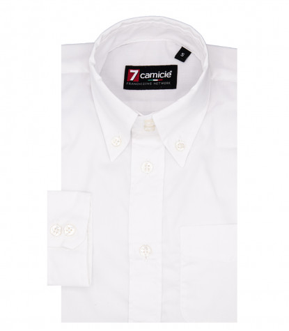 Camisas Francesco Popelin Blanco