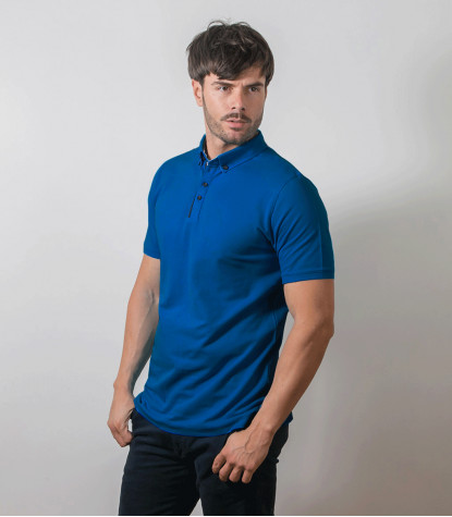 Sky Blue Polo Shirts