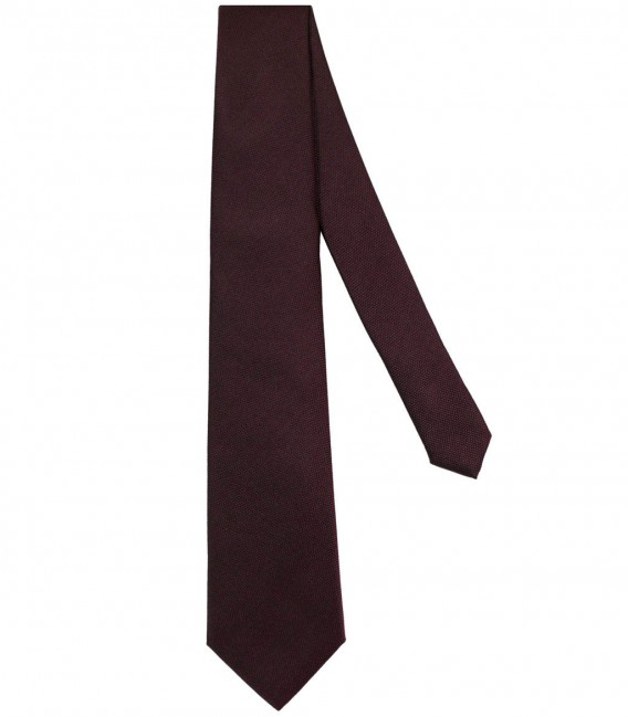 Tie Trevi Silk Red Bordeaux