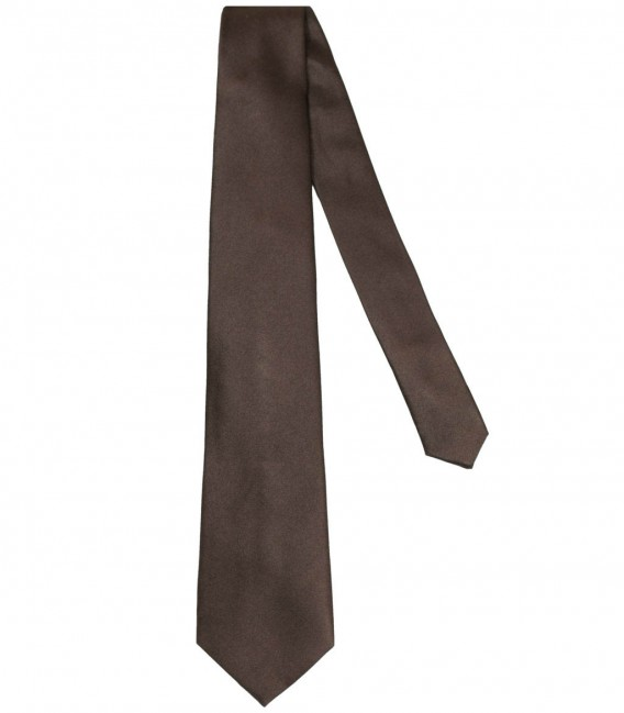 Tie Trevi Silk Brown