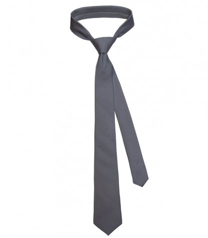 Tie Trevi Silk Dark Grey