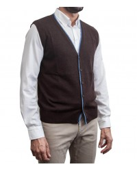 Gilet Milano Brown and avion